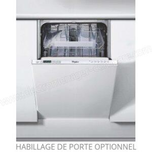 Lave vaisselle full Intégrable Whirlpool ADG351