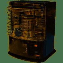 TAYOSAN 233 2200 watts Poêle à pétrole à mèche - Réservoir amovible