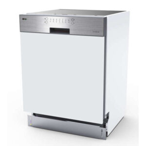 Lave vaissellle intégrable FAR LVI116A++X bandeau inox