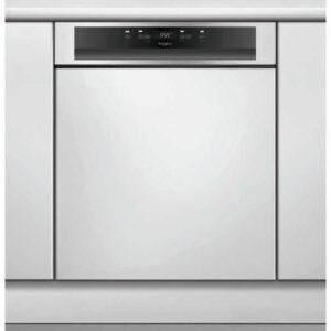 Lave vaisselle intégrable WHIRLPOOL bandeau inox